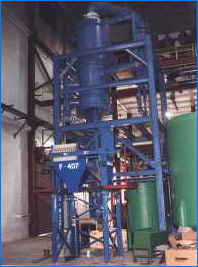 Hydrochloric acid recovery system